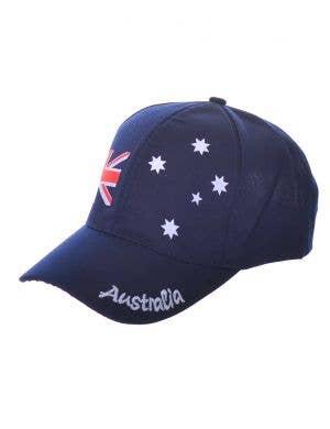 Navy Blue Aussie Flag Australia Day Baseball Cap
