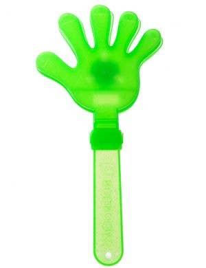 Neon Green Light Up Aussie Sports Fan Hand Clapper