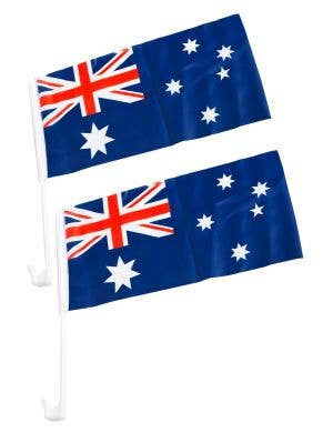 Australian Car  Flags Australia Day Novelty Flags