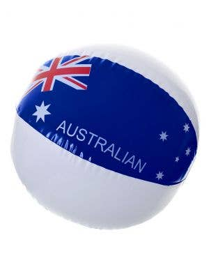 Australia Day Inflatable Beach Ball with Aussie Flag