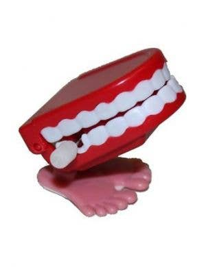 Chattering Teeth Funny Toy Accessory Front View