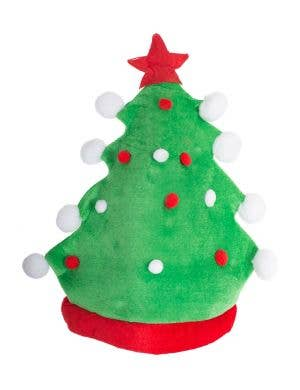 Adult'a Novelty Green Christmas Tree Costume Hat