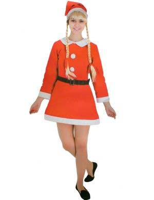 Women's Cheap Mrs Claus Christmas Costume