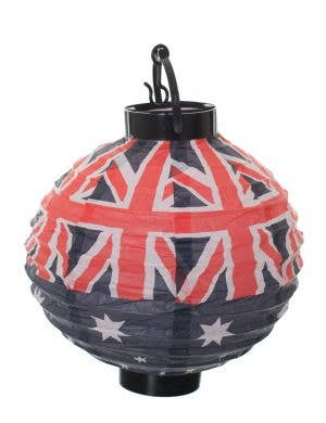 Australian Flags Light Up Paper Lantern Party Decoration View 1
