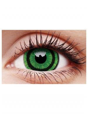 Goblin Green 12 Month Mini Sclera Contact Lenses