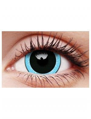 Nebulos Blue 12 Month Mini Sclera Contact Lenses