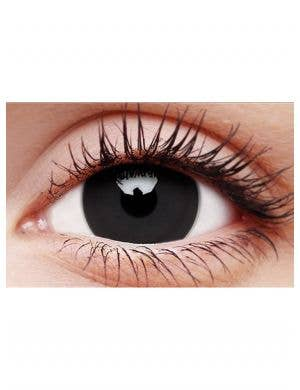 Titan Black Mini Sclera 12 Month Contact Lenses