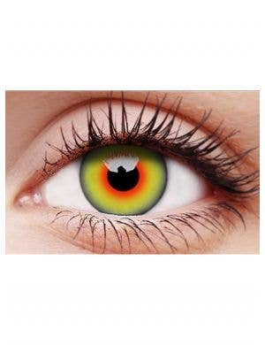 Mad Hatter Multi Colour 90 Day Contact Lenses
