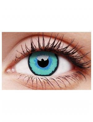 Dexus Blue Single Wear Costume Contact Lenses