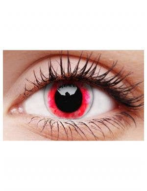 Diablo Red Moon 90 Day Halloween Contact Lenses