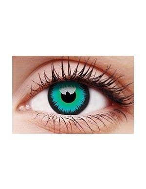 Werewolf Green 90 Day Wear Contact Lenses