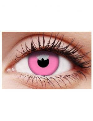 Glow Pink 3 Month Wear UV Reactive Contact Lenses