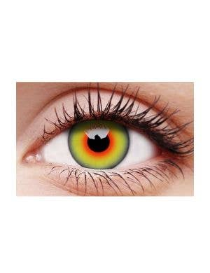 Mad Hatter Multi Colour Single Wear Costume Contact Lenses