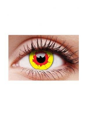 Reignfire Multi Coloured Single Wear Patterned Contact Lenses
