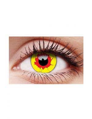Reignfire Single Wear Multi-Colour Patterned Contact Lenses