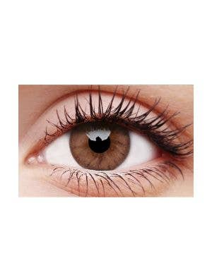 Woody Brown Cosmetic Fashion 30 Day Wear Contact Lenses