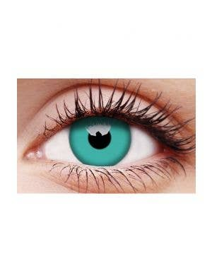 Emerald Green Single Wear Costume Contact Lenses