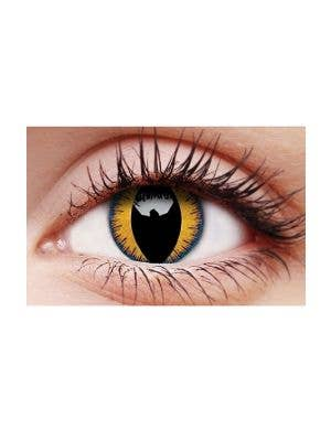 Wolf Moon Halloween Single Wear Contact Lenses