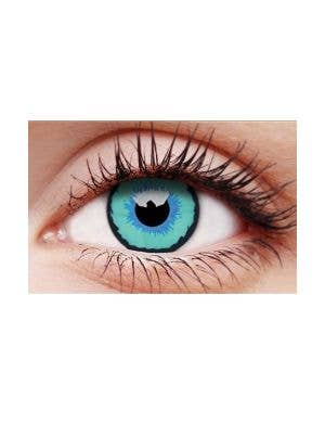 Dexus Multi Colour Blue 30 Day Wear Costume Contact Lenses