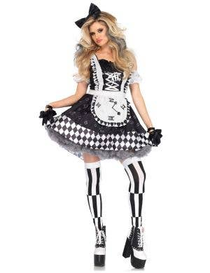Women's Sexy Dark Alice In Wonderland Costume