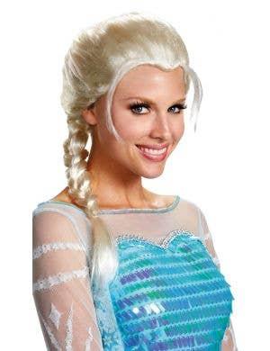 Frozen Women's Ice Queen Elsa Blonde Costume Wig