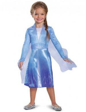 Classic Elsa Frozen 2 Girls Costume