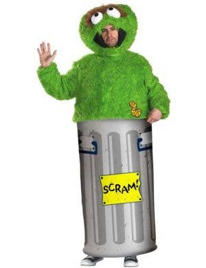 Sesame Street - Oscar The Grouch Men's Costume
