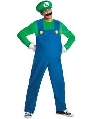 Men's Luigi Super Mario Brothers Costume