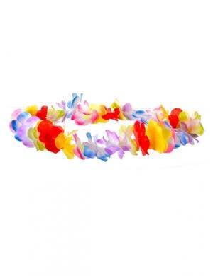 Jumbo Multicoloured Novelty Hawaiian Flower Lei