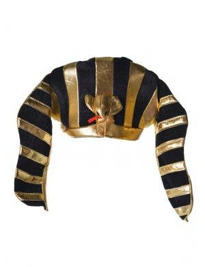 Egyptian Black and Gold Pharaoh Costume Hat