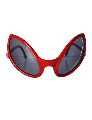 Alien Eyes Costume Glasses in Red