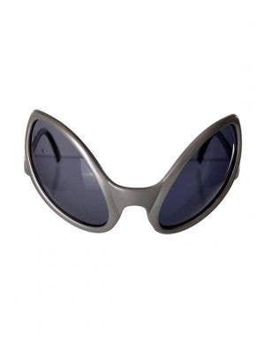Alien Eyes Costume Glasses in Silver