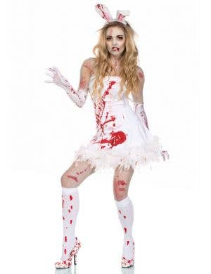 Zombie Slayboy Bunny Women's Halloween Costume