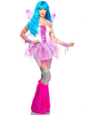 Pretty Pink Fairy Women's Fancy Dress Costume