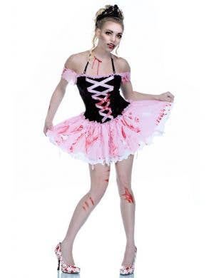 Dead Beauty Women's Sexy Halloween Zombie Costume