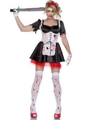 Malice in Wonderland Zombie Halloween Costume