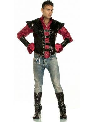 Master of Shadows Vampire Men's Halloween Costume Main Image