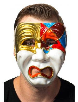 Men's Full Face Tragedy Masquerade Mask