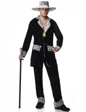 Mac Daddy Men's Pimp Costume - Black