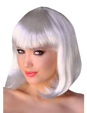 Supermodel Bob Wig in White