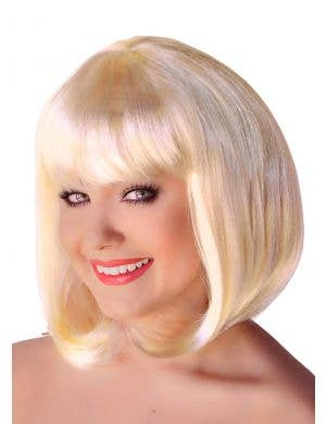Supermodel Blonde Bob Costume Wig