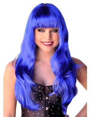 Glamour Wig in Blue