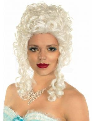 Queen of France White Marie Antoinette Wig
