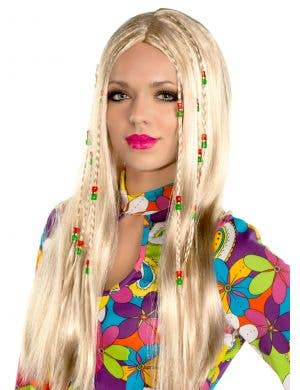 Wild Child Women's Blonde Hippie Wig