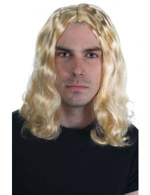 Men's Blonde Wig Set, Alternative Hippie or Surfie Look Image