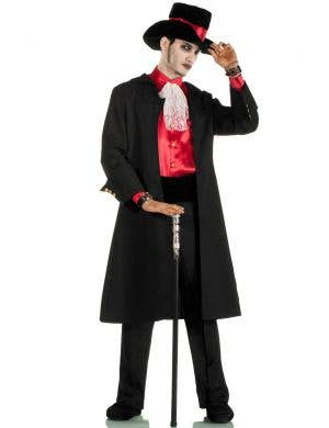 Men's Jack the Ripper Gothic Gentleman's Halloween Costume View 1