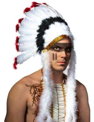 American Indian Feather Headdress