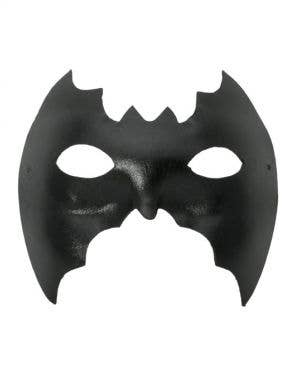 Men-s Black Vinyl Bat Eye Party Mask