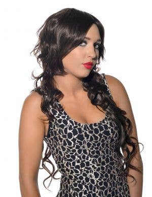 Ava Dark Brown Sexy Deluxe Fashion Wig
