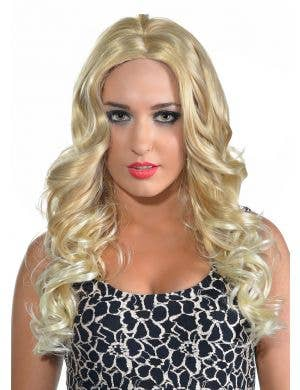Alice Blonde Curls Deluxe Fashion Wig